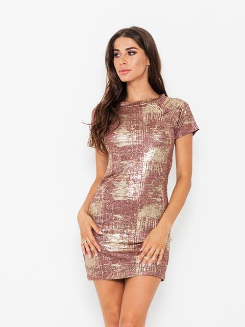 Сукня бордова Magnet 5118004