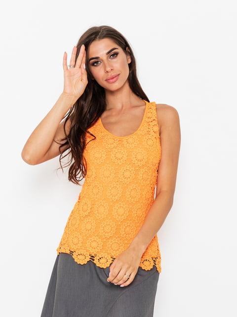 Майка оранжевая Magnet 5118034