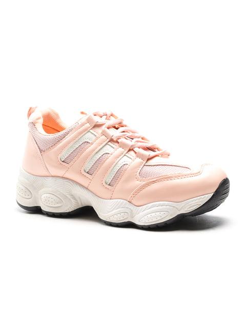 Кроссовки розовые YY 5118076