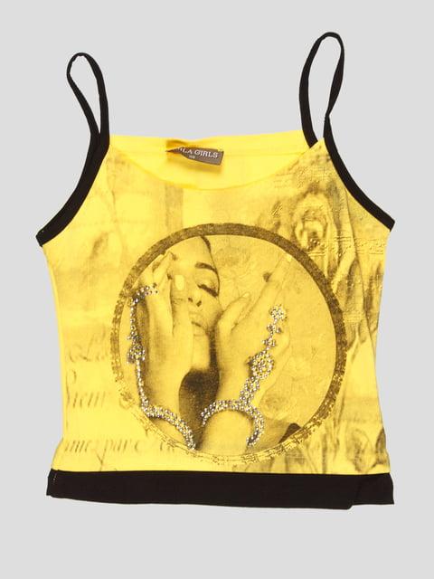 Майка жовта DAISY GIRLS 5102443