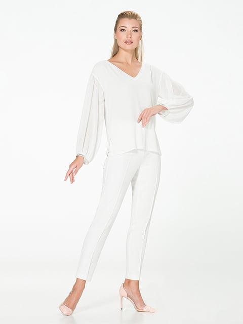 Блуза молочного цвета Lesya 5115711
