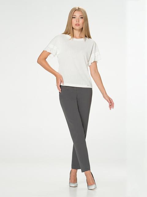 Блуза молочного цвета Lesya 5115715
