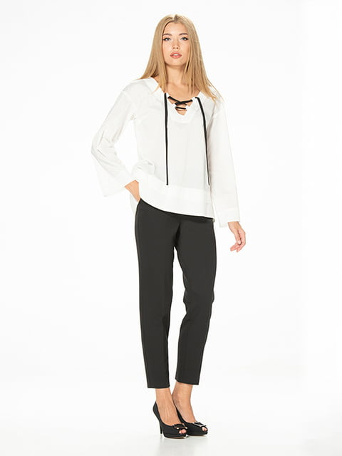 Блуза белая Lesya 5115724