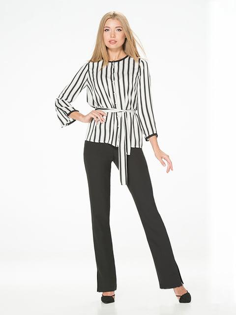 Блуза в полоску Lesya 5115730