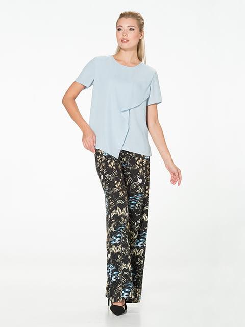 Блуза голубая Lesya 5115741