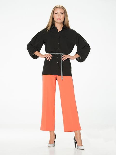 Рубашка черная Lesya 5115791