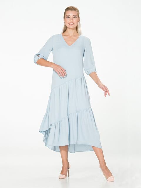 Платье голубое Lesya 5115930