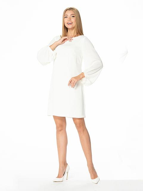 Платье молочного цвета Lesya 5115933