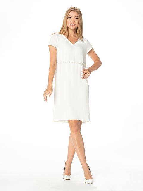 Платье молочного цвета Lesya 5115935