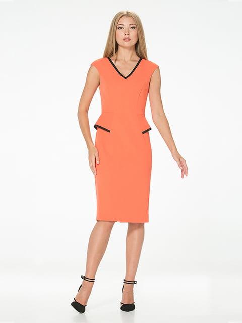 Платье оранжевое Lesya 5115964