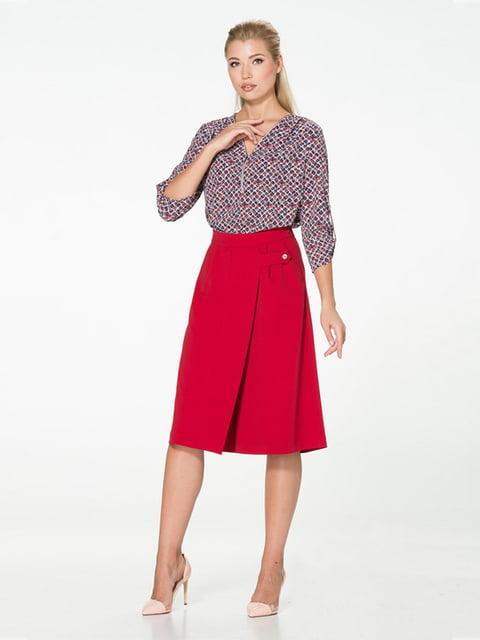 Спідниця-шорти вишневого кольору Lesya 5116051