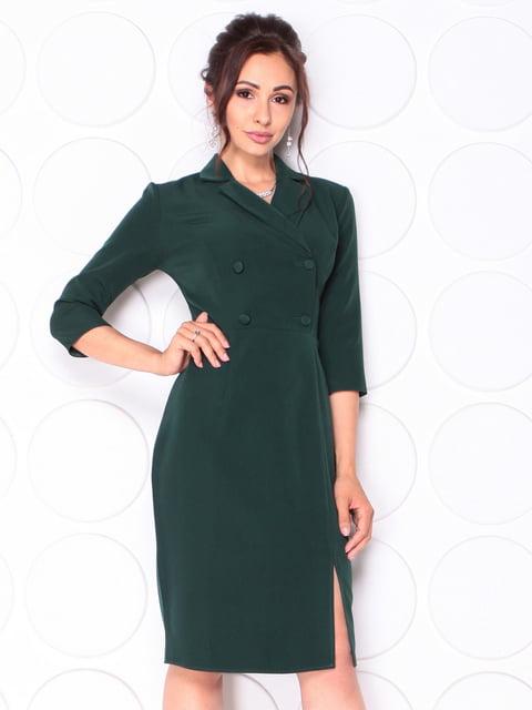 Платье темно-изумрудного цвета Laura Bettini 5123243