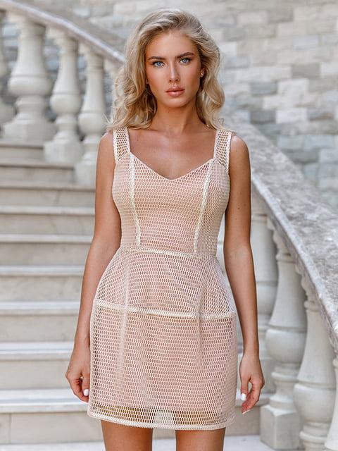 Платье бежевое Gepur 5100587