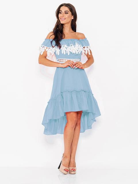 Платье голубое Magnet 5124667