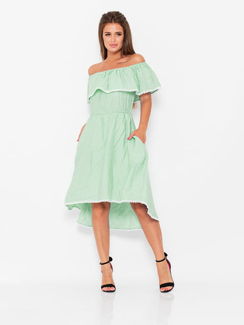Платье мятного цвета Magnet 5124687