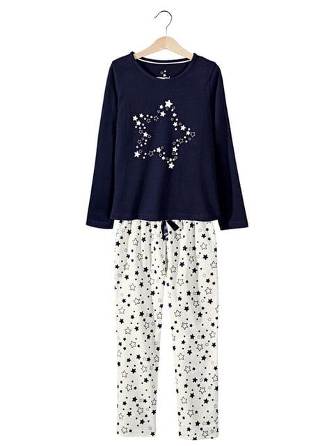 Пижама: лонгслив и брюки pepperts 5125450