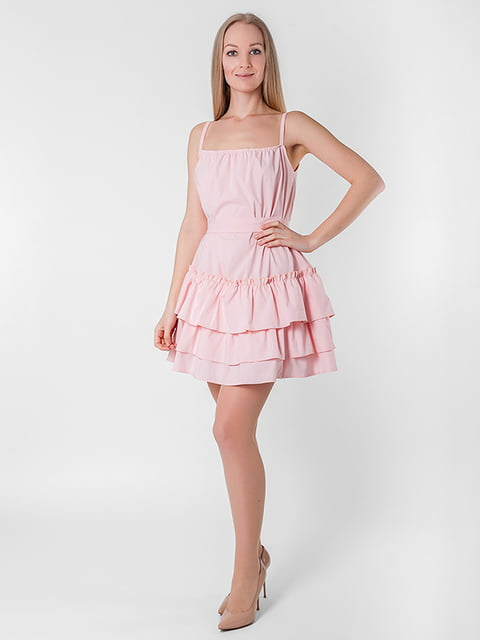 Платье розовое Podium 5126123