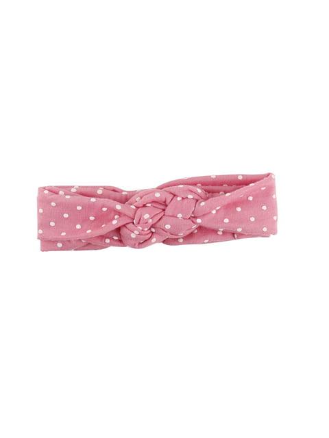 Пов'язка на голову рожева Top Baby 4538430