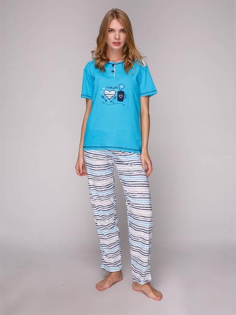 Пижама: футболка и брюки ADALYA 5128107
