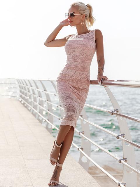Платье розовое Gepur 5128749