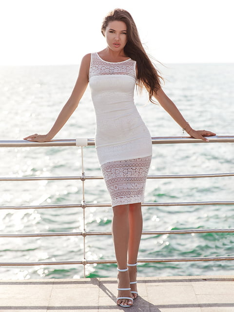 Платье белое Gepur 5128750
