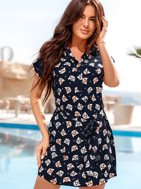 Платье синее Gepur 5128759