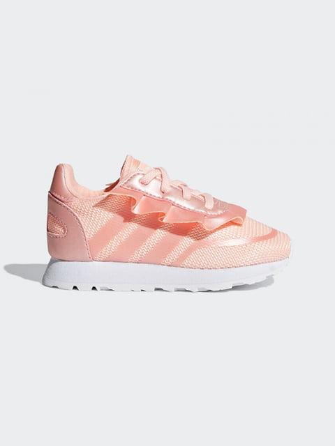 Кроссовки персикового цвета Adidas 5110658