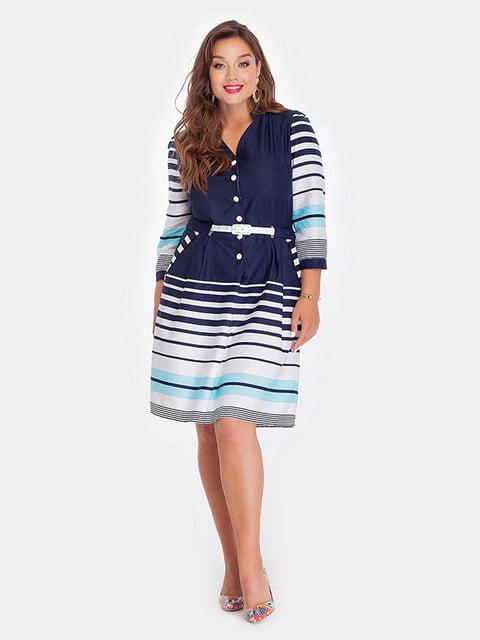 Платье бирюзовое Peony 5129103