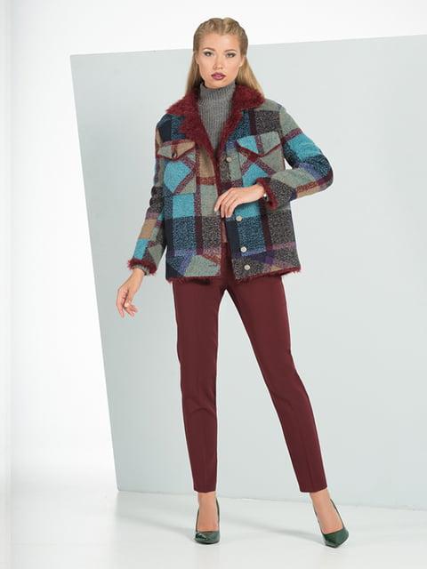Куртка клетчатая Lesya 5115866