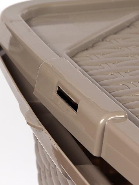 Ящик пластиковый с крышкой, не прозрачный Heidrun Intrigobox (33х23х16см( (10л) HEIDRUN 5132154