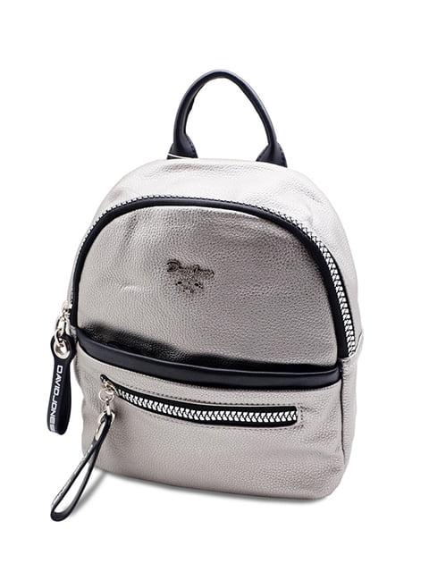 Рюкзак сріблястий David Jones 5110049