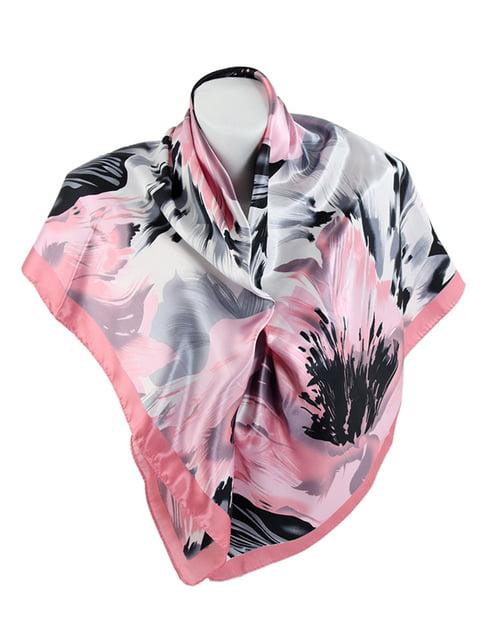 Платок розово-серого цвета Traum 5116552