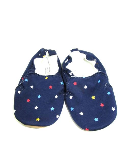 Тапочки темно-синие с принтом H&M 5134070