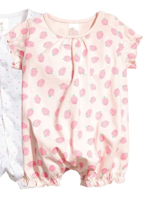 Пісочник рожевий з принтом H&M 5134136