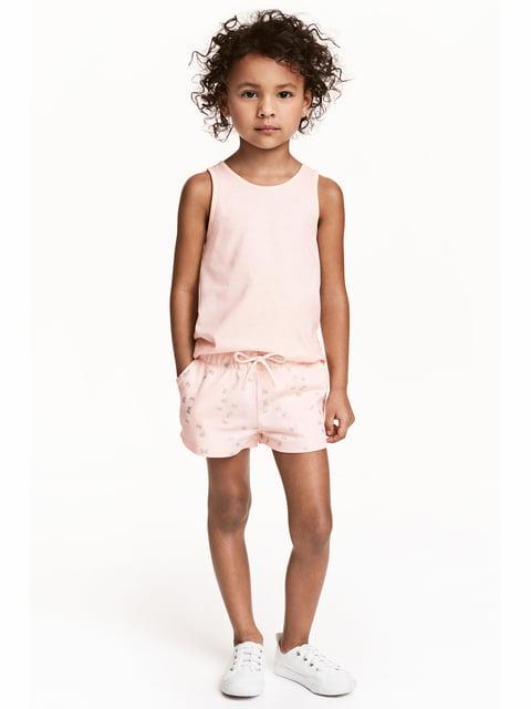 Шорты светло-розовые H&M 5134235