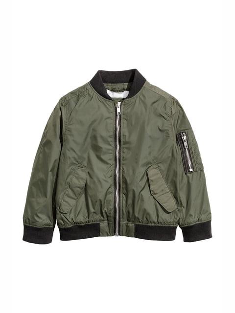 Куртка кольору хакі H&M 5134597
