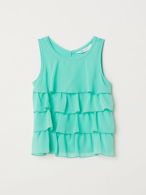 Блуза зелена H&M 5134631