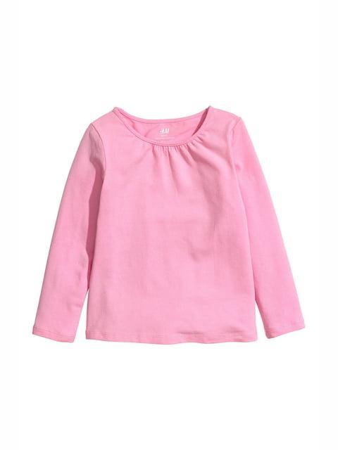 Лонгслів рожевий H&M 5135036