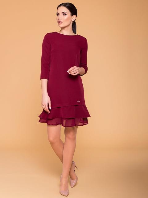 Сукня кольору марсала Modus 4794793