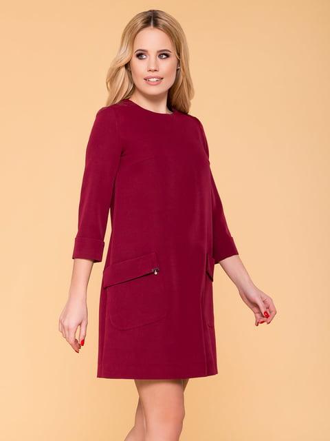 Сукня кольору марсала Modus 4912550