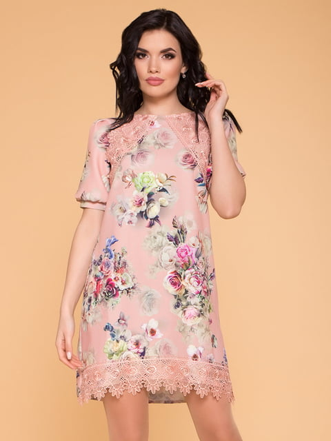Сукня пудрово-рожева Modus 4986511