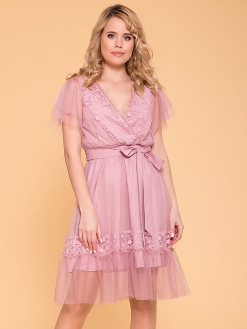 Сукня сіро-рожева Modus 5039147