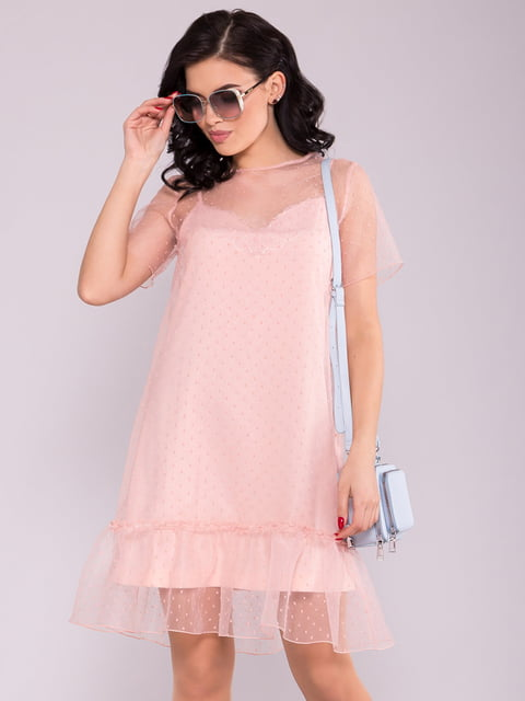 Сукня кольору пудри Modus 5094678