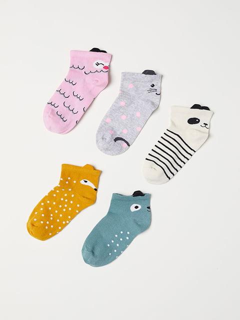 Комплект шкарпеток (5 шт) H&M 5127131