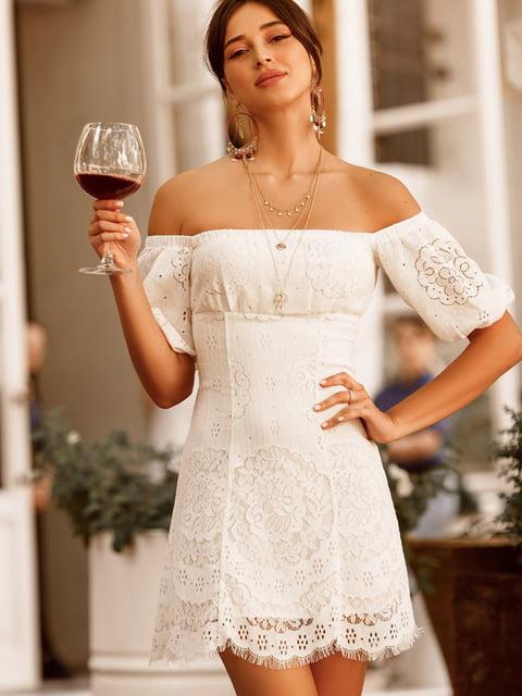 Платье белое Gepur 5136822