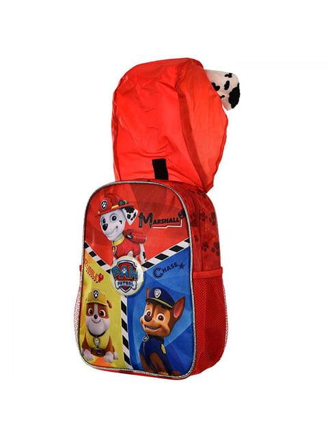 Рюкзак червоний з принтом Disney 5139349