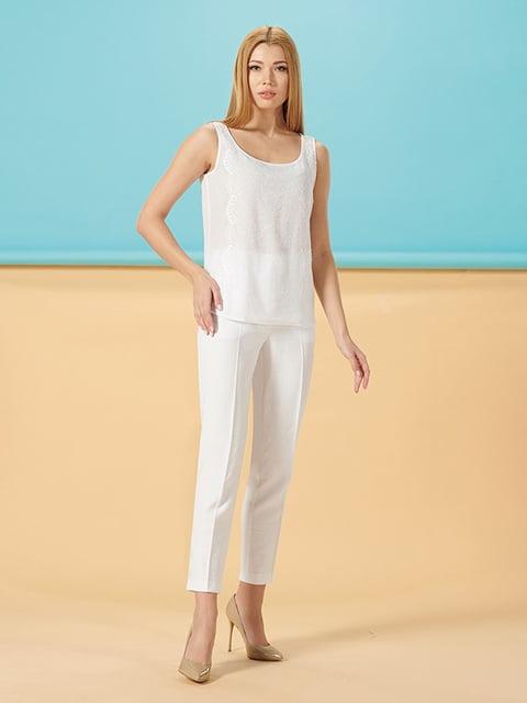 Блуза белая Lesya 5115763