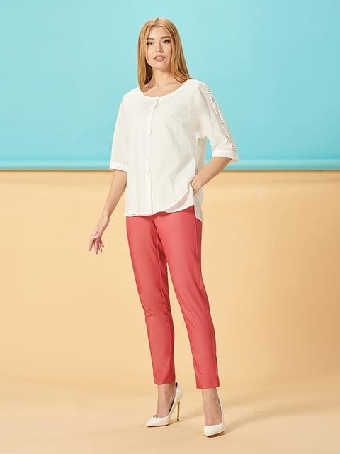 Блуза белая Lesya 5115770
