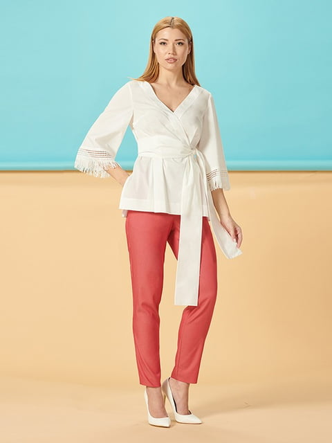 Блуза белая Lesya 5115771