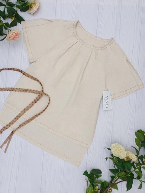 Блуза бежевая Lesya 5115774